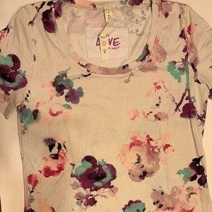 Lululemon floral shirt.
